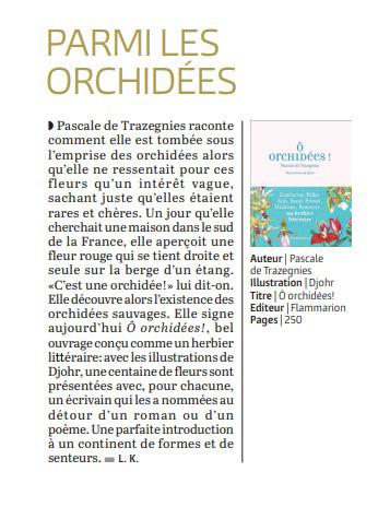 Orchidées - Suisse Le Temps CH